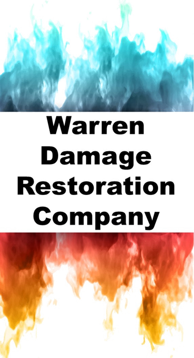 Warren Water Flood Fire Smoke Storm Damage Restoration